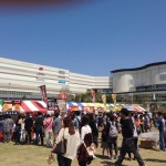 千葉幕張イオンモール特設会場 日本唐揚協会イベント2014年